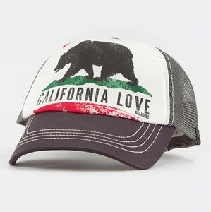 🌺NWT Billabong Pit Stop Trucker Hat